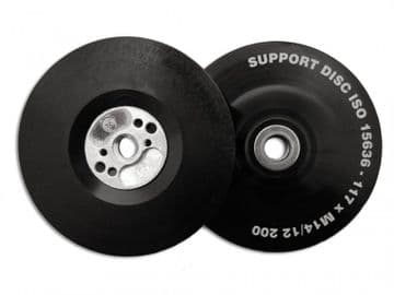 Angle Grinder Pad ISO Soft Flexible 125mm (5in) M14